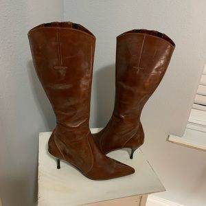 Donald Pliner Tall Leather Boot Size 9
